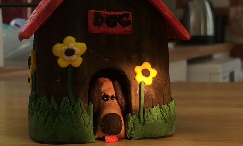 Sugarcraft dog