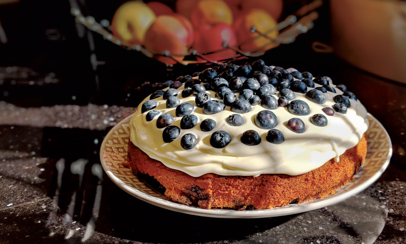 Dean's Blueberry cake