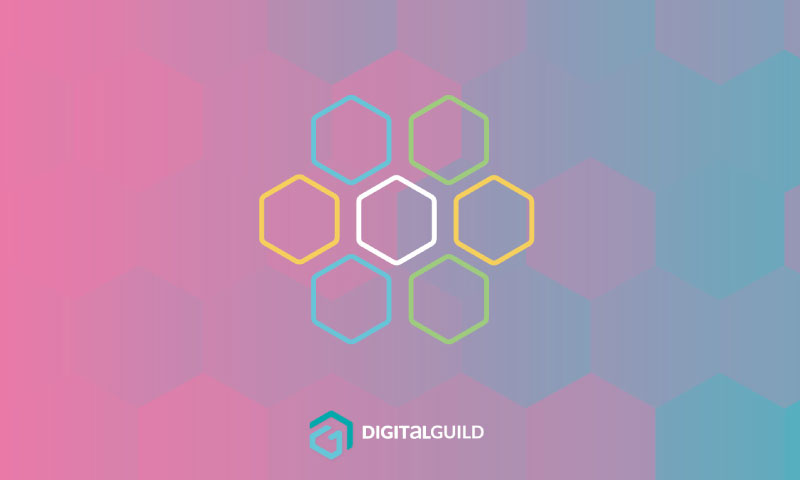 Digital Guild hexagons